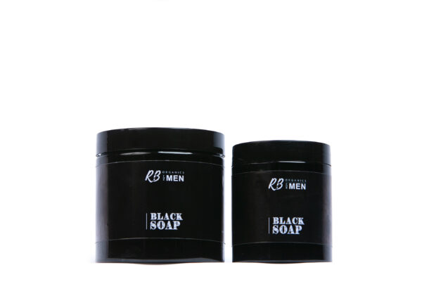 black soap paste for men